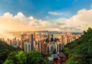Summer! Cheap full-service flights from Copenhagen to Hong Kong for only €282!