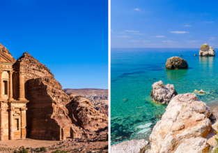 Cyprus and Jordan in one trip from London from only £37!
