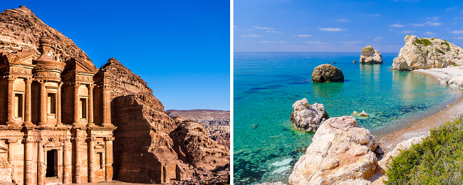 CHEAP! Jordan and Cyprus in one trip from Bucharest for only €37!