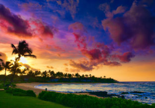 Cheap flights from Brussels to Hawaii for only €526!