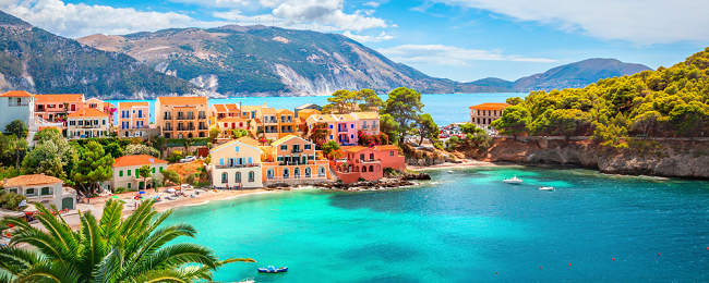 7-night stay in top-rated apartment in Kefalonia + flights from Milan for €123!