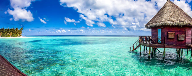 8-night B&B stay at top-rated hotel in stunning Maldives + direct flights from Bangkok and transfers for $394!