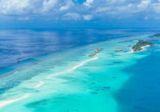 12-night Maldives getaway! B&B stay at top rated hotel + direct flights from Milan for €546!