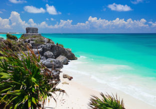 High season: Cheap flights from French cities to Cancun, Mexico from only €332!