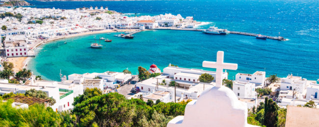 Spring in Mykonos! 7 nights in top-rated aparthotel + flights from London for just £159!