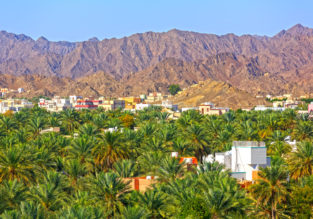 Cheap full-service flights from Luxembourg to Muscat, Oman for only €279!