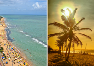 Cheap flights from Belgium or Switzerland to many Brazilian cities from only €377!