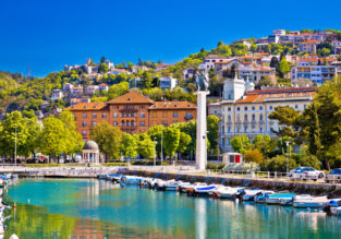 7-night stay at sea view apartment in Croatia + cheap flights from Stockholm for just €137!