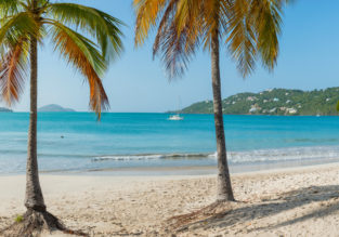 Cheap flights from East Coast to US Virgin Islands from just $99 one way or $201 return!