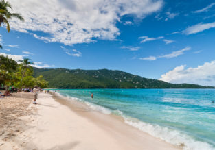 HIGH SEASON! Cheap flights from US East Coast to U.S. Virgin Islands from only $281!