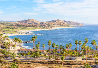 7-night B&B stay in top-rated hotel in Baja California, Mexico + flights from New York for $448!