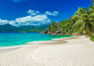 7-night Seychelles holiday! Top rated 60 ㎡ apartment & 4* Air France flights from several UK cities for only £596!