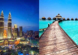 Malaysia and Maldives in one trip from Oslo for €454! Add Qatar for only €53 more!