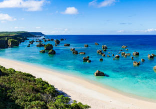 Cheap flights from New York to the subtropical archipelago of Okinawa, Japan from $408!