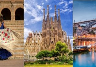 4 in 1! Porto, Marrakech, Seville and Barcelona in one trip from Germany for just €79!