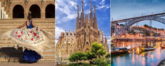 4 in 1! Barcelona, Porto, Algarve and Andalusia from Germany for just €92!