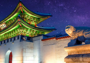 HOT! Non-stop flights from Paris to Seoul, South Korea for only €276!