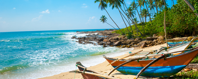 7-night B&B stay in top-rated beach hotel in Sri Lanka + flights from Bucharest for €415!