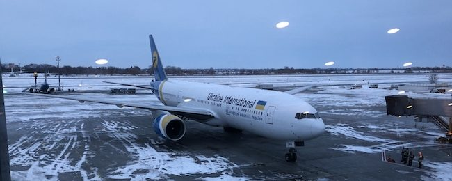 Fly4free flight report: Ukraine International MAD-KBP-BKK (B777-200/767-300/737-800)