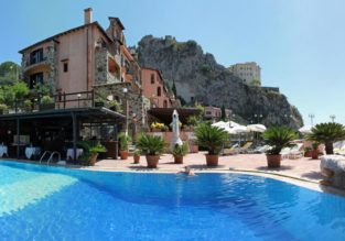 4* Villa Sonia in Taormina, Sicily for €37! (€18.5/ £17 per person incl. breakfast)