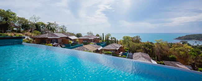 Villa at top-rated 5* seafront resort in Koh Samui for only €66! (€33/ £29 per person)