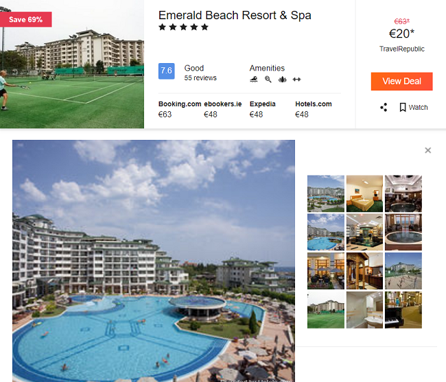 Best Rated Hotels In Sunny Beach Bulgaria