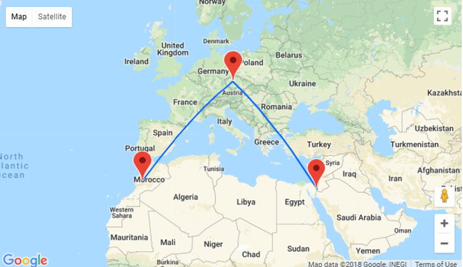 Ryanair: New routes from Prague to Eilat and Marrakech!