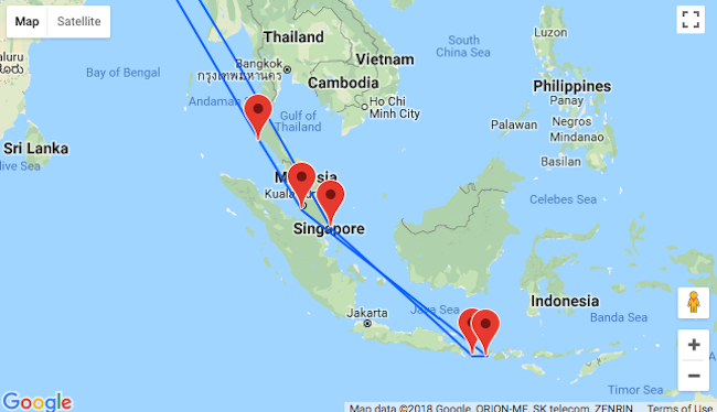 Singapore bali lombok kuala lumpur and phuket in one trip from the first destination in your trip will be singapore the worlds only island city state the smallest country in southeast asia is also a land of gumiabroncs Images