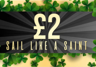 Stena Line St Patrick's day Sale: Ferry between Ireland and Wales for only £2 each way!