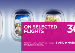 Wizz Air: 30% discount on selected flights! Open to everybody!