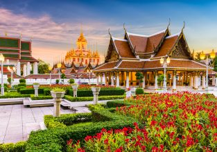 HIGH SEASON! Turkish Airlines flights from several French cities to Thailand from only €368!