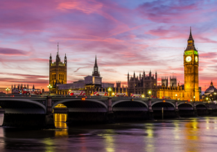 Late Summer! Cheap flights from Kosice to London or vice-versa from only €19 / £19!