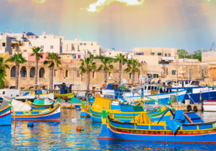 Cheap flights from Spain to Malta from only €9!