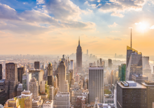 Cheap non-stop flights from Amsterdam to New York for only €253!