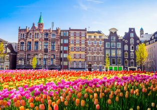 City break in lovely Amsterdam! Cheap flights from multiple EU cities from just €33/£34!