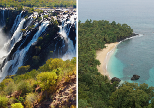2 in 1: Lisbon to Angola & Sao Tome and Principe in one trip for only €358!