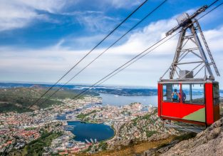 HOT! Vienna to Bergen, Norway for just €1 one-way!