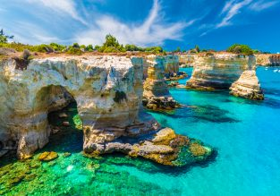 JULY! 7 nights at beachfront aparthotel in Puglia, Southern Italy + cheap flights from London for just £152!