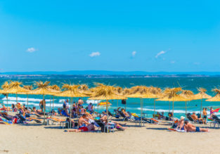 MAY! 7-night stay in top-rated 4* beach aparthotel in Bulgaria's Black Sea Coast + flights from Bratislava for only €92!
