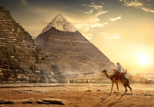 Cheap open-jaw flights from Larnaca to both Egypt & Hong Kong and returning to many EU cities from only £302/€333!