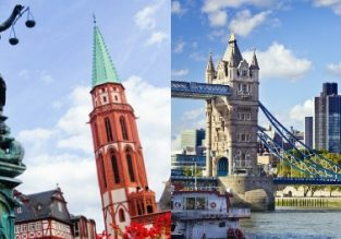JULY! Cheap flights from London to Frankfurt Hahn and vice-versa for £10/€12!