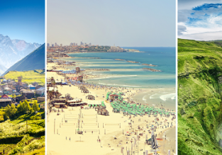 Megatrip: London to Spain, Georgia, Cyprus, Bulgaria, Israel, Poland and Iceland for only £132!