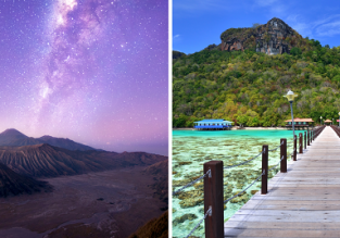 Lombok, Sumbawa, Bali, Java, Kuala Lumpur and Borneo in one trip from Zurich for €645 with checked bag!