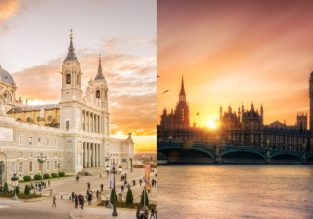 Cheap non-stop flights from New York to Madrid, Barcelona or London from only $233!