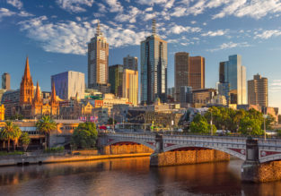 London to Melbourne, Australia for only £484!