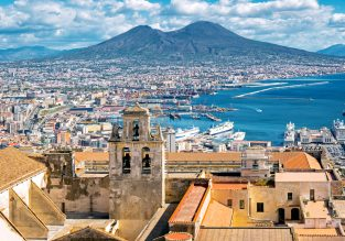 AUGUST! 7-night stay at very central hotel in Naples, Italy + flights from UK for just £149!