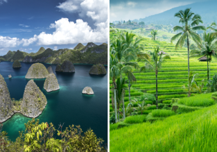 Lombok, Bali, West Papua, North & South Sulawesi in one trip from Zurich for €647!