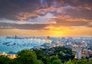 12-night Pattaya getaway incl. top-rated 4* hotel & 5* Qatar Airways flights from Budapest for €456!