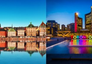 Stockholm, Sweden and Toronto, Canada in one trip from Kyiv for €259!