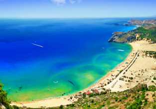 MAY: 7 nights at beachfront hotel in Rhodes + cheap flights from London for only £130!